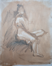 <i>Art Energy 5</i>, oil on canvas, 16 x 20