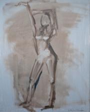 <i>Art Energy 7</i>, oil on canvas, 16 x 20