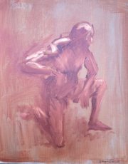 <i>Art Energy 9</i>, oil on canvas, 16 x 20
