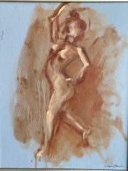 <i>Dancing nude</i>