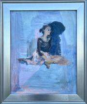 <i>Study for Ballerina Tutu</i>, oil on canvas, 16 x 20
