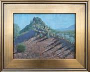 <i>Twilight</i>, oil on wood panel, 9 x 12