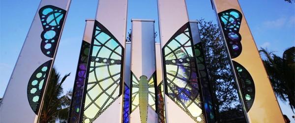 Mark Fuller - Butterfly Column Grove - GardensArt