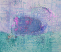 Judith Shah - Purple Float