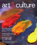 art&culture magazine cover - spring 2010