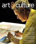 art&culture magazine cover - WInter 2013