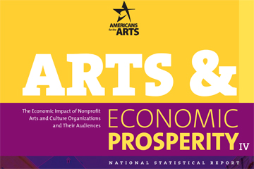 Arts & Economic Prosperity IV