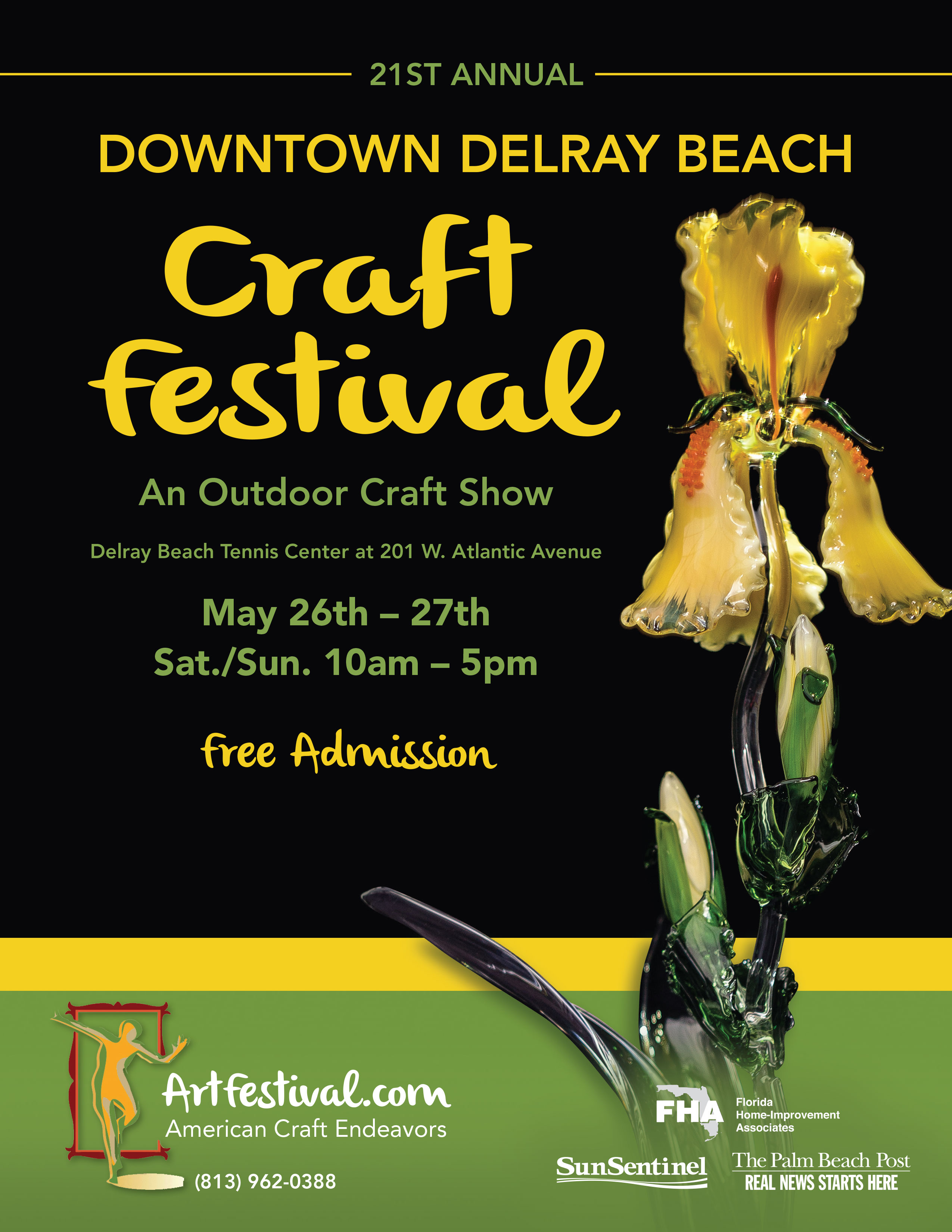 21st Annual Downtown Delray Beach Craft Festival