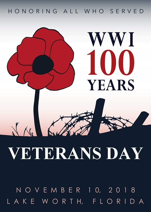 Veterans Day Parade and Ceremony in Lake Worth