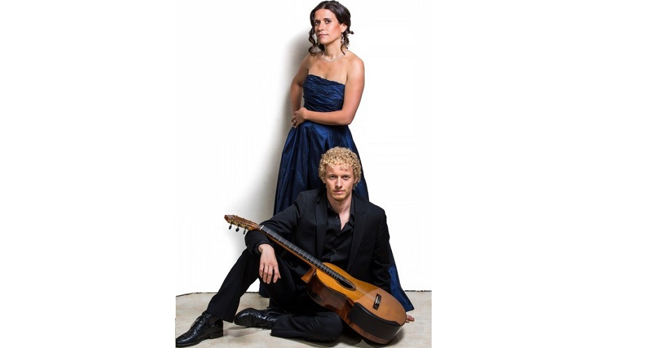 Classical Guitar Duo, Johannes Möller and Laura Fraticelli