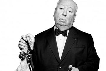 Alfred Hitchcock by Albert Watson - FOTOFusion 2017