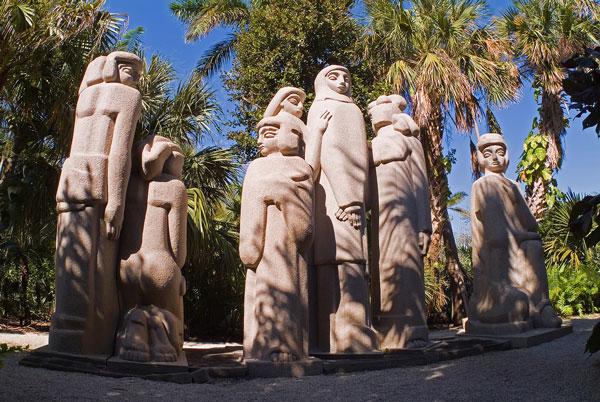 Cluster - Ann Norton Sculpture Gardens