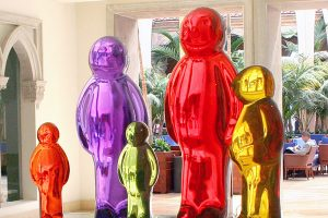 Boca Raton Resort & Club - Jelly Baby Family by Mauro Perucchetti