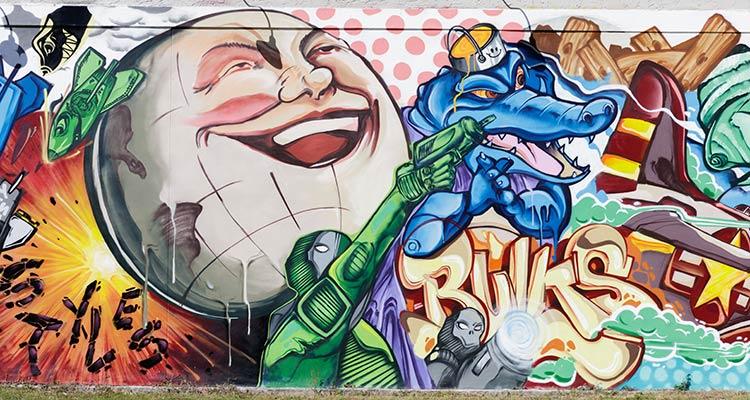 Bulk Styles Respectable Street Mural