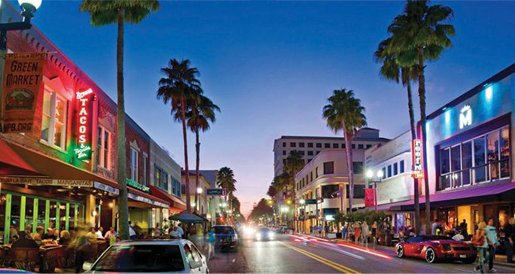 Clematis Street - Downtown West Palm Beach