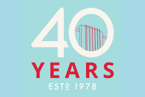 Cultural Council 40th Anniversary logo