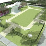 Cultural Council PBC Outdoor Project Space rendering