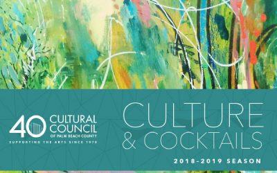 Culture & Cocktails 2018-2019 Season