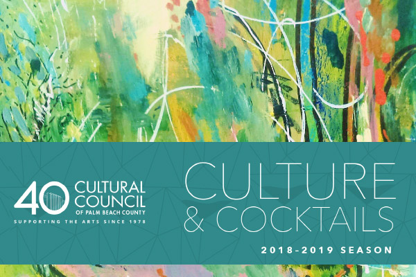 Culture & Cocktails 2018-2019 Season