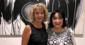 Debra Yates and Dina Baker Cultural Council of Palm Beach County