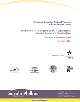 Economic Impact of Cultural Tourism in Palm Beach County