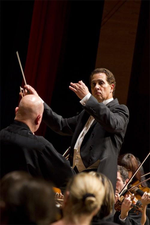 Lynn Philharmonia Concert with Elmar Oliveira, violin, and Guillermo Figueroa, viola