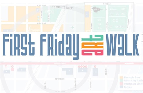 First Friday Art Walks in Delray Beach