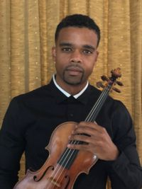 Violinist Gareth Johnson at St. Paul's, Delray Beach