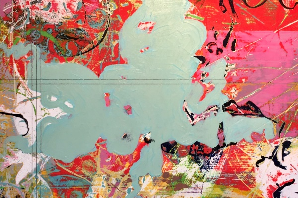 "Glenda Green, ""Sea of Love"" (detail)"