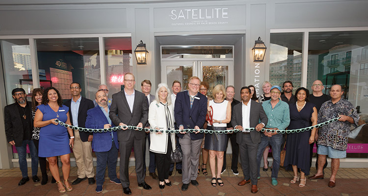 Grand Opening of The Satellite Cultural Council of Palm Beach County CityPlace