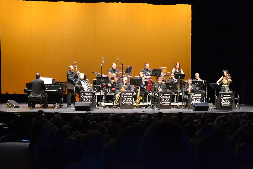 "Aaron Kula's Klezmer Company Jazz Orchestra presents ""American Jewish New Year in Jazztime"""