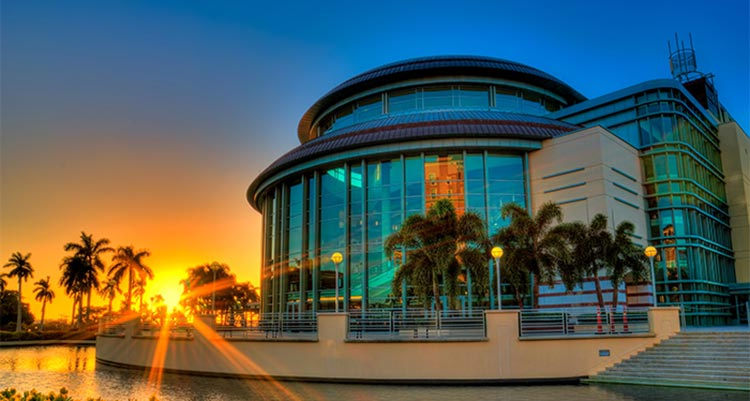 Kravis Center Sunset Photo