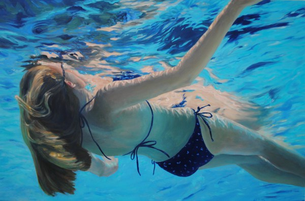 Kris Davis - Floating 24x36