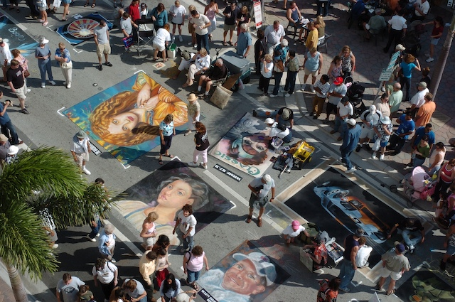 23rd Annual Lake Worth Street Painting Festival