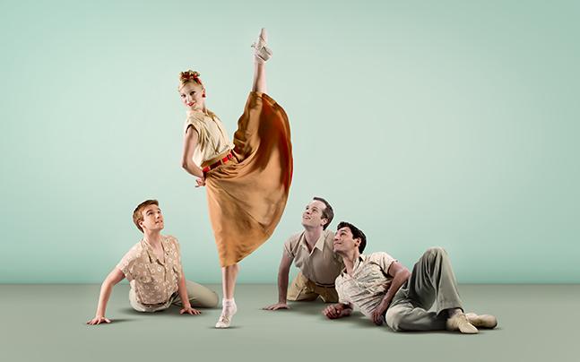 "Miami City Ballet presents Paul Taylor's ""Company B"""