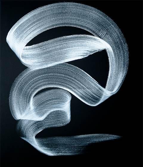 Mimie Langlois - Love, acrylic on canvas, 60x48