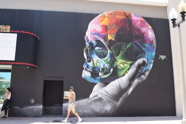 Mural by Eduardo Kobra - Photo by POPSUGAR Photography - Hedy Phillips