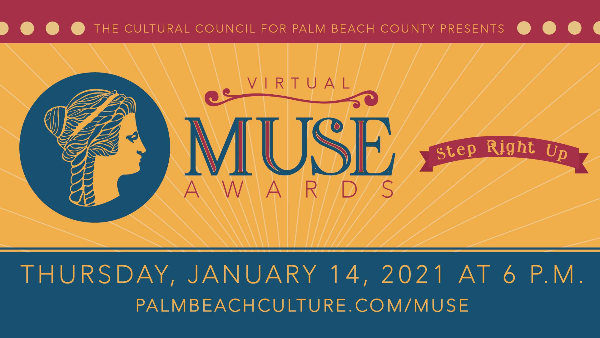 Virtual Muse Awards: Registration & Raffle