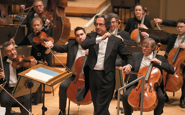Chicago Symphony Orchestra with Riccardo Muti, conductor