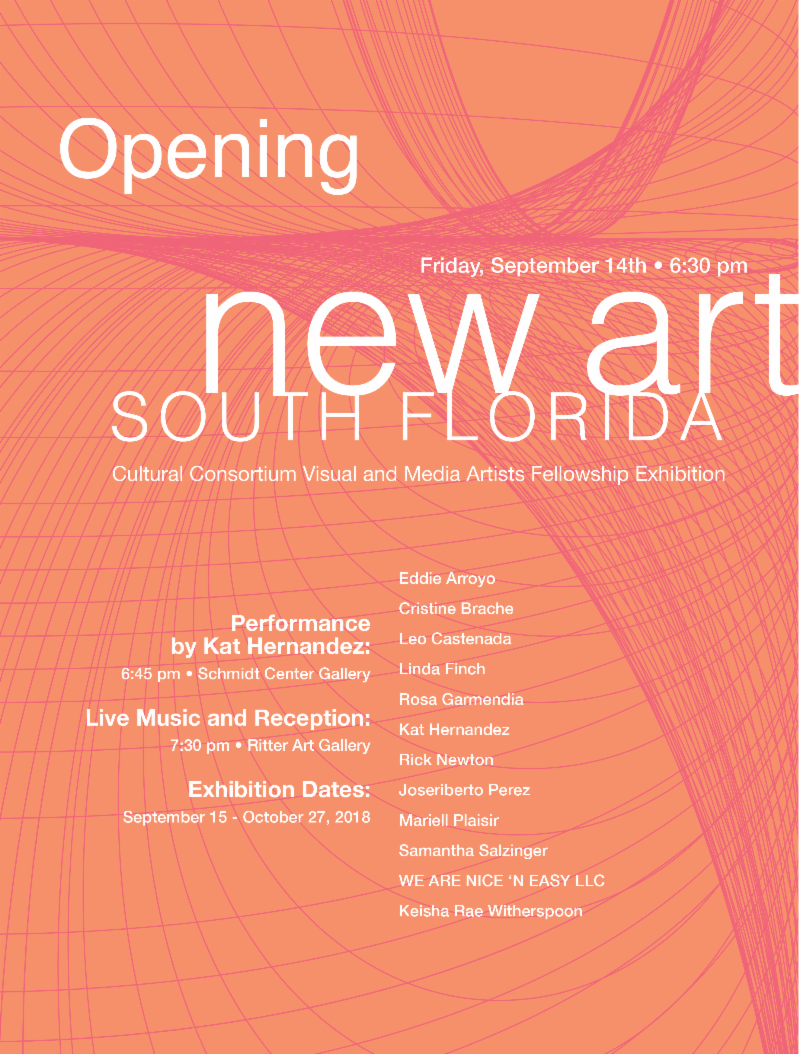 FAU's Schmidt and Ritter Art Galleries: New Art South Florida