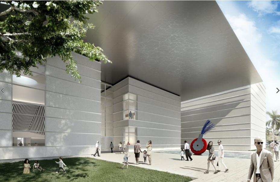 Norton Museum of Art rendering