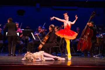 Peter and the Wolf - Palm Beach Symphony - photo by CAPEHART