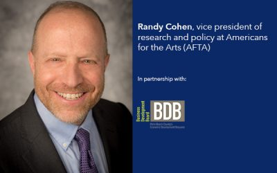 Randy Cohen, vice president of research and policy, Americans for the Arts