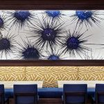 Restaurant wall at the Hilton West Palm Beach - Chris Leidy