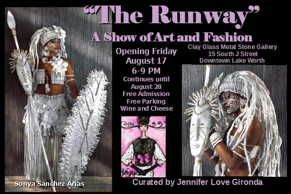 Runway: A Show of Art and Fashion at Clay, Glass, Metal, Stone Gallery