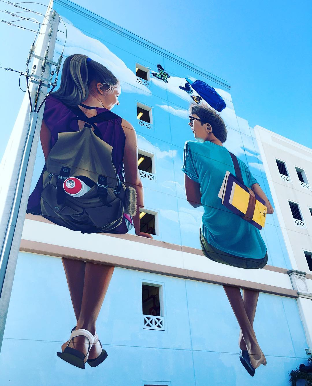 Smarter Travel - Instagram - WPB mural -Lonac