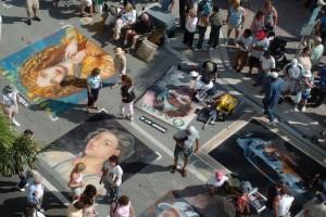 Lake Worth Street Painting Festival - Aerial