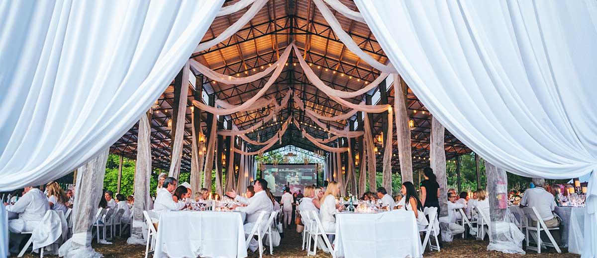 Swank Table - Diner en Blanc 2016