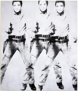 Triple Elvis by Bruce Helander