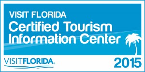 Visit Florida certified tourism information center